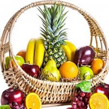 Fruit Basket Fruit Gift Baskets Fruit And Wine Selection Delicious Pineapple