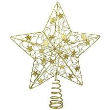 large gold luxury tree topper co uk