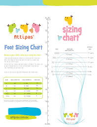 baby sock size guide size guide attipas australia