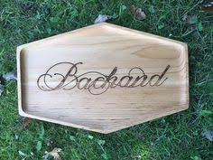personalized serving trays platters laser engraved wood plate customized serving platter snack plate