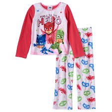pj masks fleece pajamas