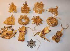 danbury mint gold ornaments ebay