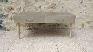 table basse chene massif gris barnabé designtable basse métis