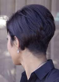 short hairstyles as seen from behind tuck behind ear pixie haircut from the back hair pinterest