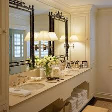 Bathrooms With Mirrors by Bathroom With Mirror On Top Of Mirror French Bathroom