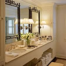 swing arm sconces on vanity mirror design ideas