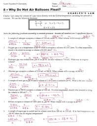 ideal gas law worksheet free worksheets library download and