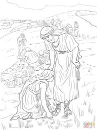 ruth and boaz coloring page free printable coloring pages