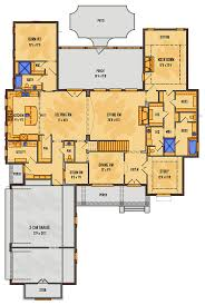 One Level House Plans House Plans Split Bedroom House Plans One Floor House Plans One