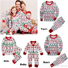 family christmas winter jumpsuits baby clothing papa