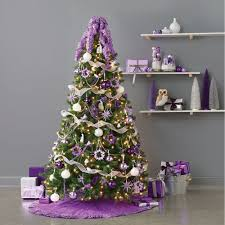 purple and silver tinselificial topia inspiring