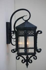 Lantern Style Outdoor Lighting by Lights Of Tuscany 7010 1vg Spanish Santa Barbara Style Iron