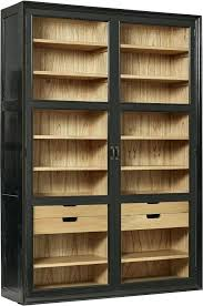 black cabinet with glass doors awesome white cupboard display cabinet glass doors stock photo
