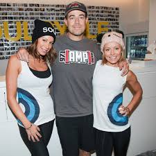 i did soulcycle with carson daly kelly ripa and jennifer fisher