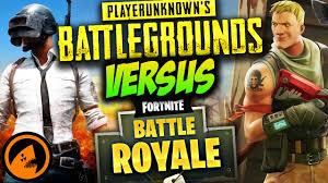 pubg vs fortnite playerunknown s battlegrounds vs fortnite battle royale which
