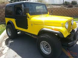 jeep hardtop custom jeep cj7 chevy 350 v8 5 7l automatic 3 speed hard top with doors