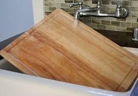 Kitchen Sink Cutting Board by How To Clean A Wooden Cutting Board Naturally Live Simply By Annie