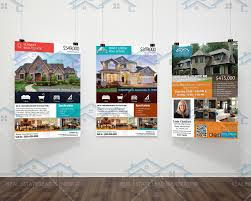 Real Estate Listing Flyer Template by 3 New Listed Realtor Flyers Real Estate Listing Flyer Custom