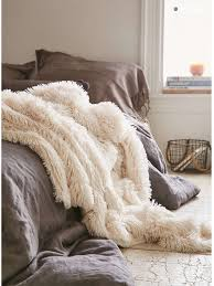 home accessory fur throw blankets faux fur bedding