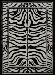 Animal Area Rugs Modern Leopard Animal Print Area Rug 8x11 Zebra Safari Carpet