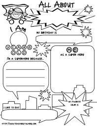 all about me worksheet printable worksheets