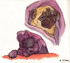 pug slope blog archive pug sketches