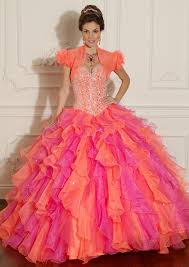 orange quinceanera dresses beaded organza quinceanera dress style 88001 morilee