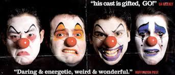birthday clowns it tougher than you think i ll take that four clowns four clowns