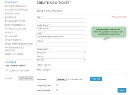help desk ticket form magento help desk magento customer service extension