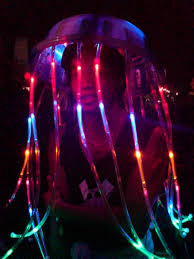 Led Light Halloween Costume Halloween Led Jellyfish Costume 8 Steps Pictures
