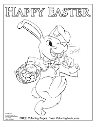 coloring pages free online coloring pages easter bunny