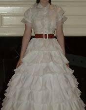 Gone With The Wind Curtain Dress Scarlett O U0027hara Costume Ebay