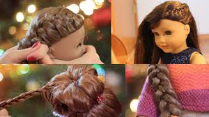american doll holiday hairstyles 2016 youtube