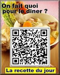 recette cuisine du jour qr codes blogs culinaire recette du jour télécharger