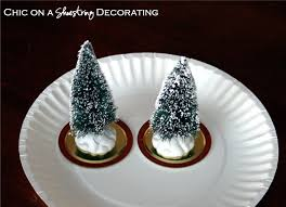 chic on a shoestring decorating dollar store snow globes sans