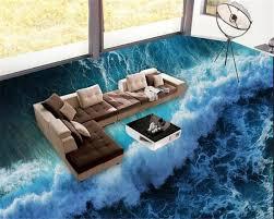 3d ocean floor designs online shop beibehang fashionable aesthetic wallpaper 3d ocean
