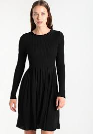black dress uk only onllife jumper dress black zalando co uk