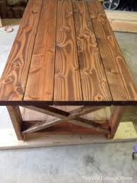 Stained Coffee Table Diy Coffee Table This Old Colonial Home