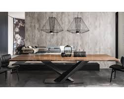dining table stratos wood cattelan italia stratos wood a buy