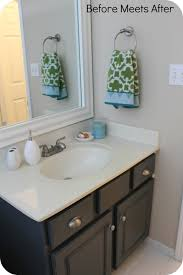 bathroom vanity makeover ideas chalk paint makeup vanity spray paint bathroom countertop diy