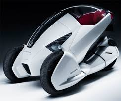 future honda honda u0027s concept trike for the urban commuter popular science