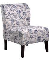 Blue And White Accent Chair Blue Accent Chairs At Low Prices