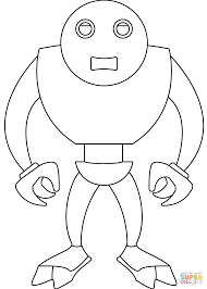 robot terminator coloring page free printable coloring pages