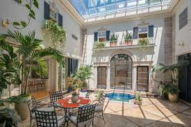 courtyard home famed houston chef s unique memorial home features glass covered