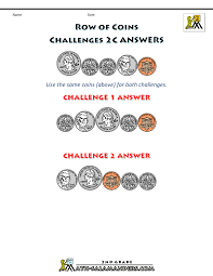 free printable money worksheets money challenges