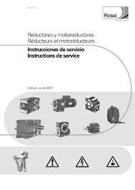 manual de mantenimiento de reductores