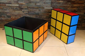 storage cube coffee table rubik s cube seat storage table this would be so cool for my sons