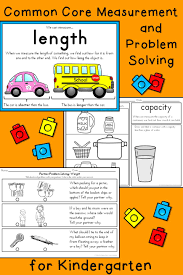 capacity nonstandard capacity unit for kindergarten and first grade from