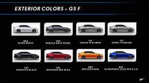 lexus color auto buzz the 2016 lexus gs f drive review
