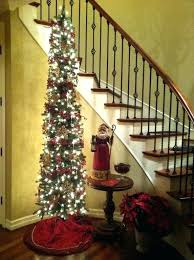 artificial tree slim pine with lights 3 trees pre lit led